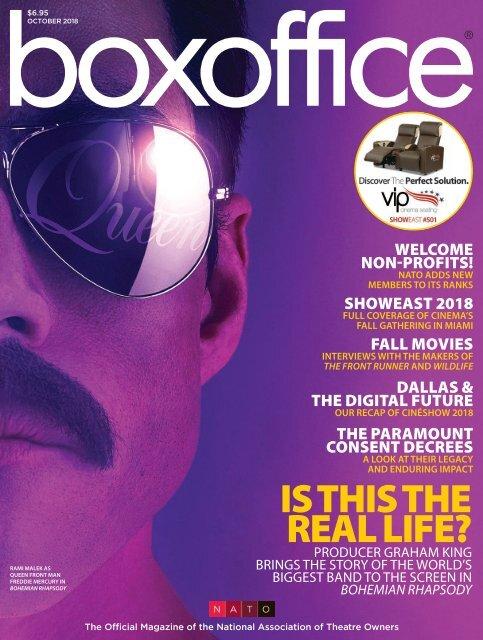 Boxoffice - October 2018