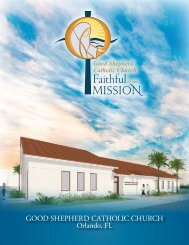 Faithful to our Mission-Files a nuestra Misión Brochure