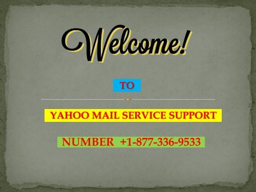 How to Create Yahoo Mail Account? Number 1877-503-0107