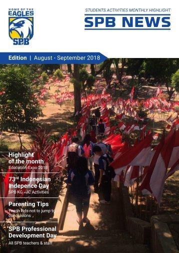 SPB News August - September 2018