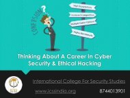 Thinking About A Career In Cyber Security or Ethical Hacking