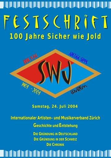 100 Jahre SwJ-Festschrift