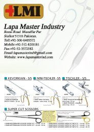 Catalogue Brochure Dental instruments, Surgical Instruments Highest Quality Manufacturers, Exporters Suppliers