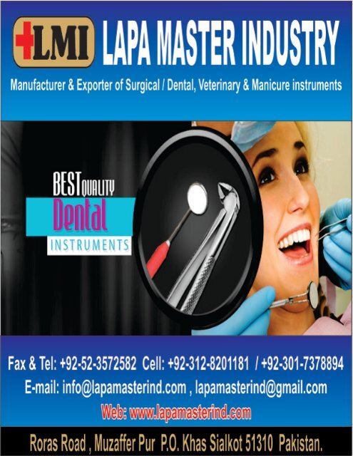PDF Catalogue Dental instruments, Surgical Instruments Highest