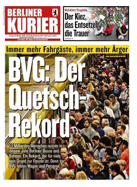 Berliner Kurier 19.10.2018