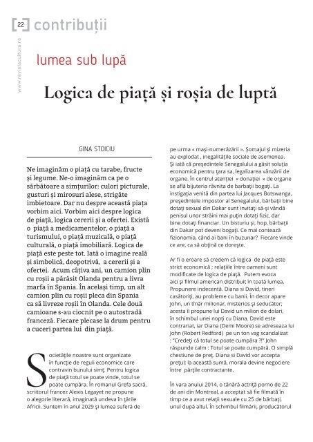 Cultura nr 4 (586) /2018