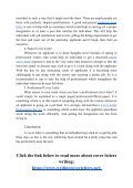 Cover Letter Professional Service for Writing Different Types of Cover Letters - Page 4