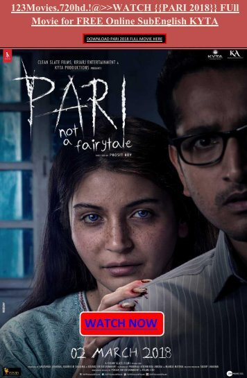 123Movies]] WATCH PARI 2018}} Full Movie FREE Online stream hd