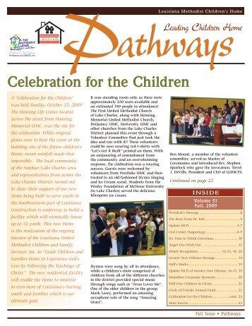 Celebration for the Children - Methodist Children's Home