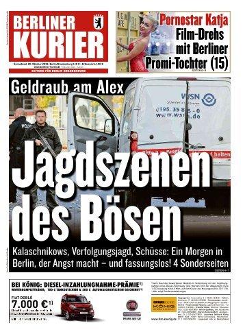 Berliner Kurier 20.10.2018
