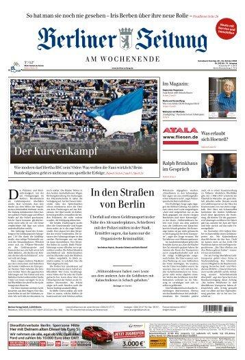 Berliner Zeitung 20.10.2018