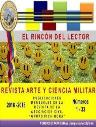Revista ARTE Y CIENCIA MILITAR del Grupo Pichincha