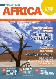 Tourism Guide Africa Travel Guide Oct - Dec 2018 Edition