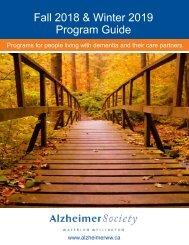 Fall 2018 & Winter 2019 Program Guide - updated October 2018