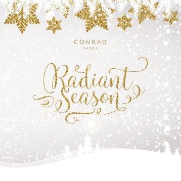 Radiant Season at Conrad Manila
