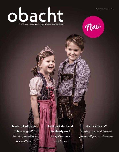 obacht Familienmagazin Juni/Juli 2019