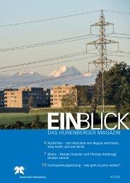 Gemeindemagazin EINBLICK 04/2018