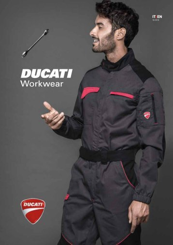 Ducati Workwear - Catalogo 2018
