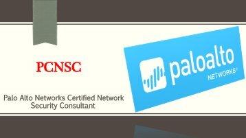 PCNSC VCE Tests