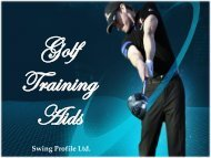 Golf Training Aids- Best App For Golf Players