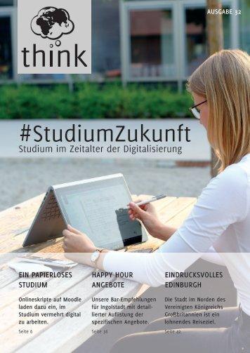 think - Die Studentenzeitung im WS2018/2019