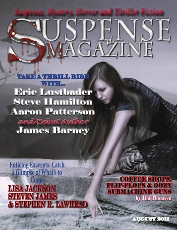 Suspense, Mystery, Horror and Thriller Fiction - Suspense Magazine