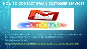 New Gmail password recovery