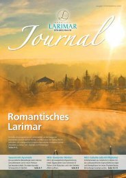 Larimar Journal Herbst & Winter 2018
