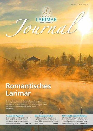 Larimar Journal Herbst & Winter 2018