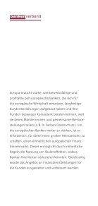 Starke Banken für einen einheitlichen europäischen Finanzbinnenmarkt - Page 2