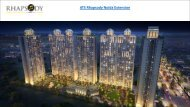 Residential Apartments in ATS Rhapsody Noida Extension