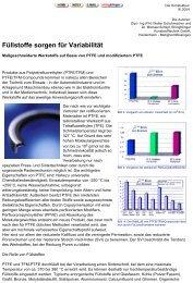 Füllstoffe sorgen für Variabilität - ElringKlinger Kunststofftechnik