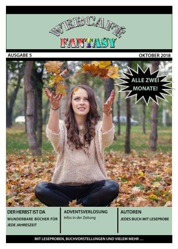 WebCafé Fantasy Oktober 2018