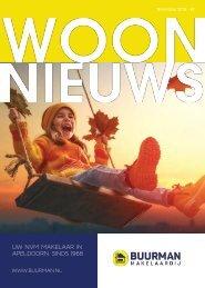 Buurman Makelaardij Woonnieuws magazine #2, november 2018