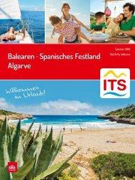 Balearen, Spanisches Festland, Algarve Sommer 2019 ITS