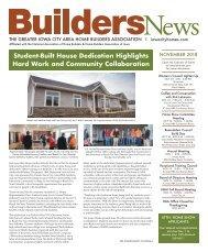 Builders News Nov. 2018