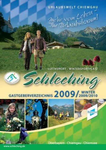 Schleching Ferienwohnungen - Toubiz