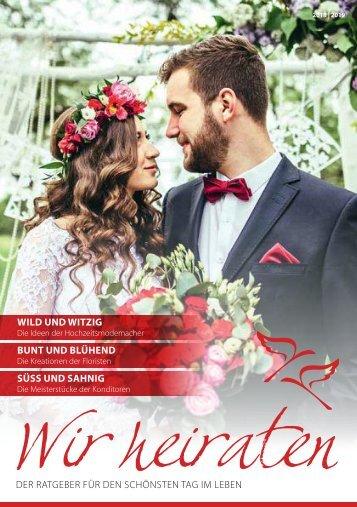 Magazin - Wir heiraten - 2018