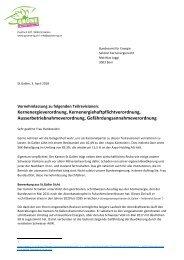 Teilrevision Kernenergieverordnung