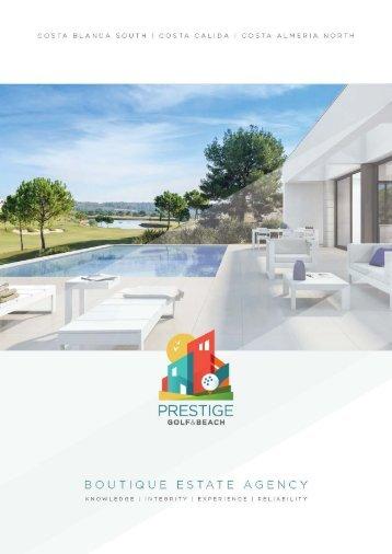 Prestige Golf & Beach - Brochure