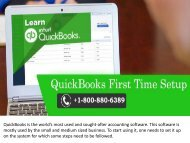 How to Setup QuickBooks Desktop for the First Time