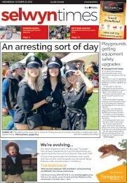 Selwyn Times: October 24, 2018