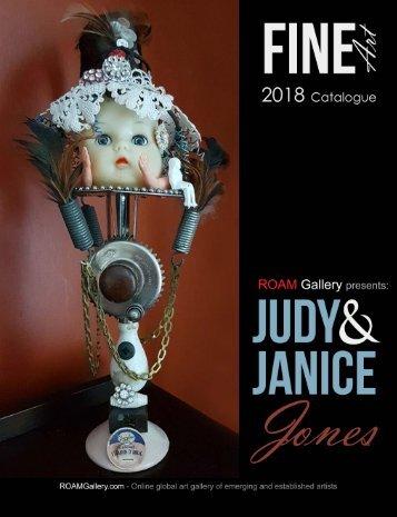 Judy and Janice Jones - Fine Art Catalogue 2018