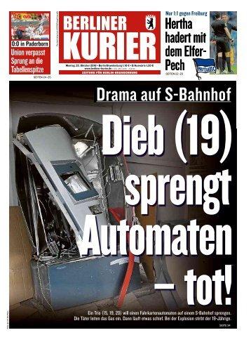 Berliner Kurier 22.10.2018