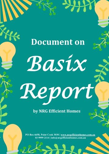 All That You Need to Know About Basix Report
