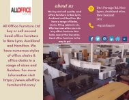 Used Office furniture Disposal Auckland