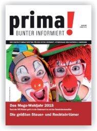 prima! Magazin - Ausgabe Februar 2015