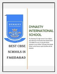 Valuable Tips to Find the Best School for Your Kids in Faridabad
