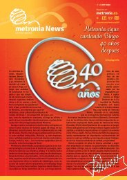 Boletín nº 43: Metronia sigue cantando Bingo 40 años después