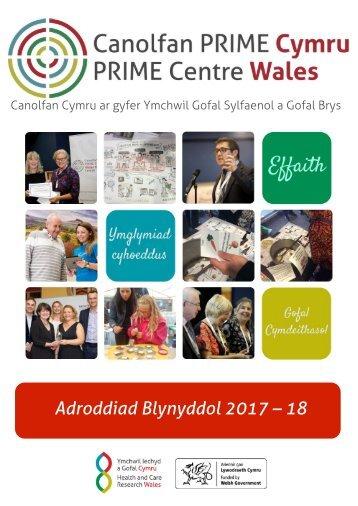 PRIME Annual Report_Annual Report_2017-18_CYMRAEG